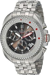 Invicta Men's JT Quartz Stainless-Steel Strap, Silver, 24 Casual Watch (Model: 26418
