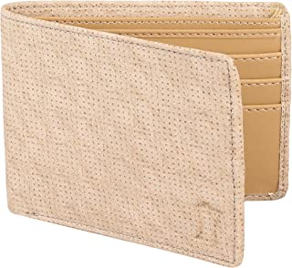 Creature Designer White Wallet for Men with Zip (Colour-White/Brown  WL-015)