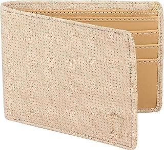 Creature Designer White Wallet for Men with Zip (Colour-White/Brown||WL-015)