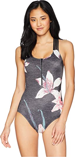 Roxy Fitness Sporty One-Piece