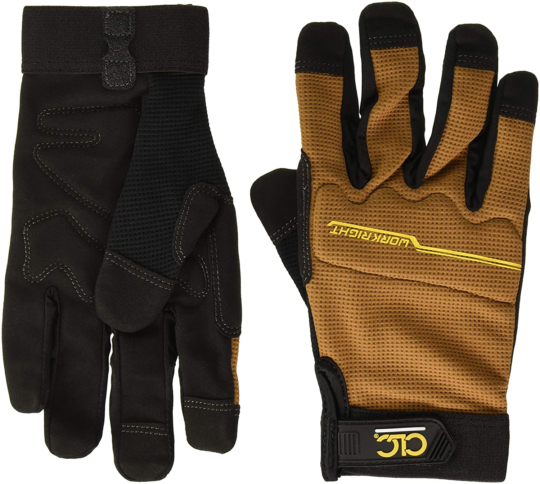CLC Custom Leathercraft 124M Workright Work Sh Gloves 5 ☆ popular Flex Grip Detroit Mall