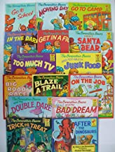 Berenstain Bears First Time Book Series (Set of 15) School, Moving, Camp, Dark, Fight, Santa Bear, TV, Junk Food, Road Race, Blaze Trail, On Job, Double Dare, Bad Dream, Trick or Treat, After Dinosaur
