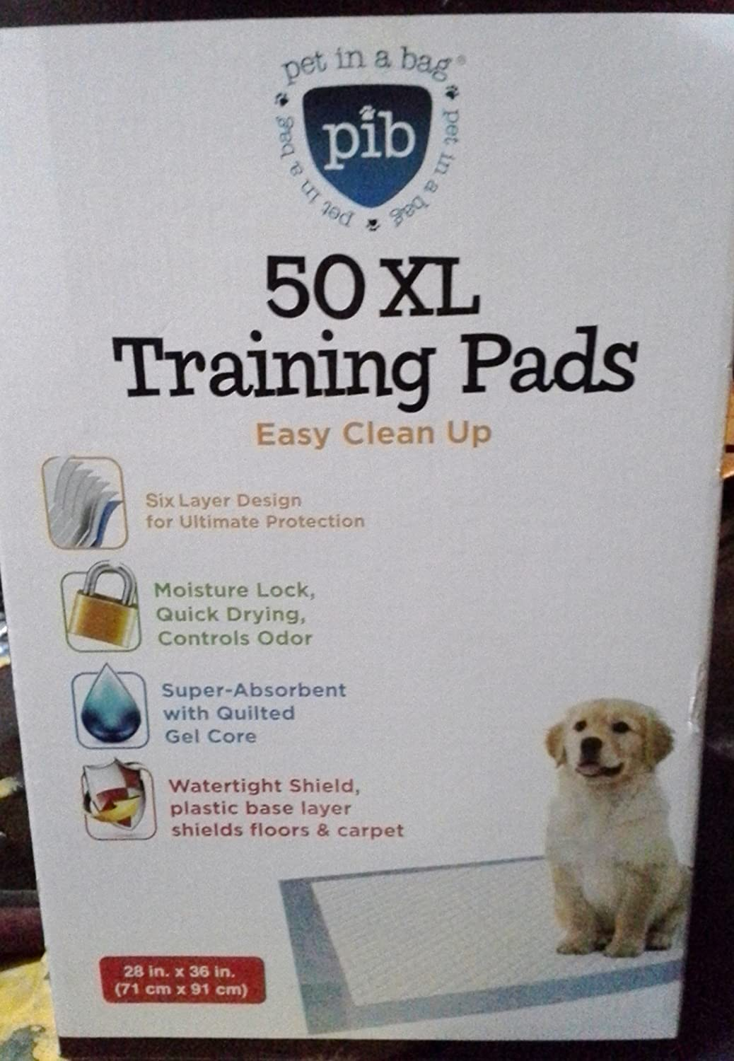 Big Stinkers Xlarge Thick Dog and Puppy House Breaking Pads 50pk 80g 28  X 36