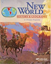 New World History and Geography: Student Textbook, Map Studies and Reviews, Map Studies and Reviews Key, Quiz Key, Answer Key to Text Questions, Quizzes, Tests, Test key (Grade 6) (Set of 8 Books) (New World History & Geography in Christian Perspective, 3rd Edition, A Beka Book History Series)