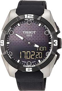 تيسوت ساعة عملية كاجوال رجال انالوج-رقمي جلد - T0914204605100