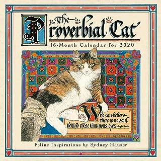 2020 Wall Calendar The Proverbial Cat - Feline Inspirations