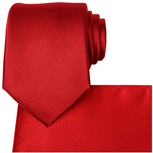 Brooben Boys Satin Zipper Neck Tie 14 inch Children Wedding Tie NK1 Navy