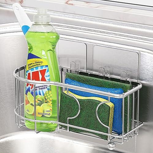 lowest SimpleHouseware Kitchen sale popular Sponge Holder with Adhesive Hooks online sale
