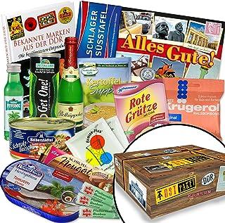 Ostprodukte-Versand.de DDR Geschenk / Spezialitätenset Geschenke für Freund Geburtstag