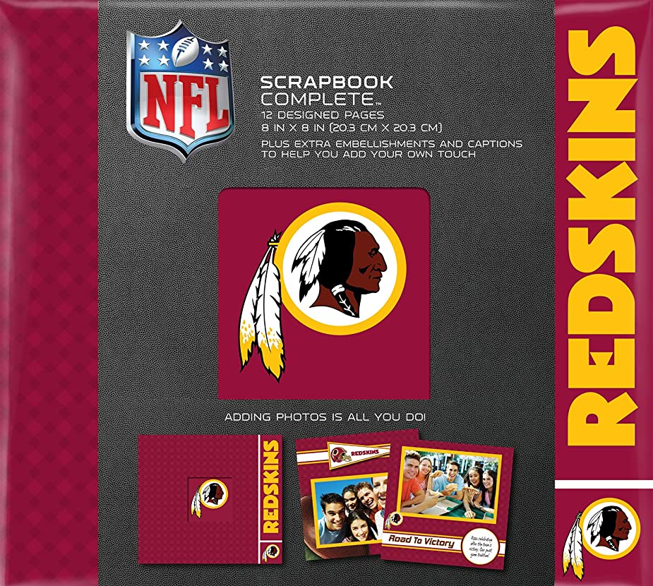 C.R. Gibson Scrapbook Complete Kit, Small, Washington Redskins (N878549M) gipyrk9943093