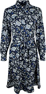 LAUREN RALPH LAUREN Women's Printed Crepe Shirtdress