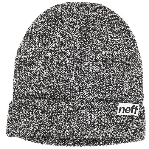 7f8acd08191 Neff Heather Fold Cuffed Beanie Unisex Best Soft Winter Hat Cap