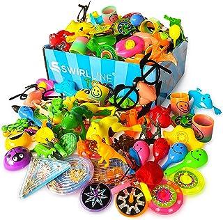 Party Favors Kids - Carnival Prizes Toys Bulk - 122PCS Pinata Filler Toy Assortment - Boys Girls Birthday Box - Classroom ...