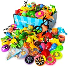 Assortment of small carnival or game prizes for kids
