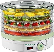BEPER 90.506 Déshydrateur de Fruits, 245 W, Blanc