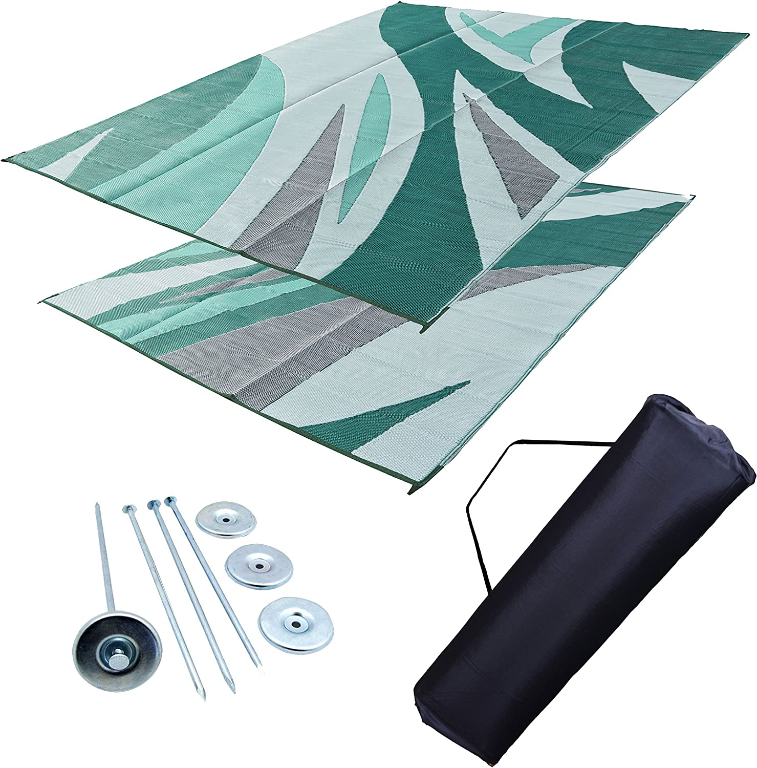 EZ Travel Mats Max 76% OFF RV Patio Leisure Awning Mat 9x12 Dallas Mall Outdoor