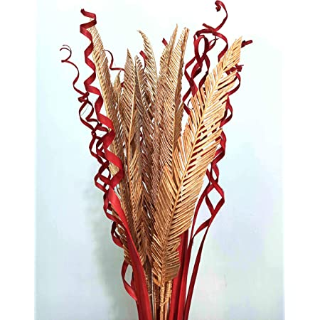 Palesaa Artificial Homemade Dry Flower Sticks (Multicolour)