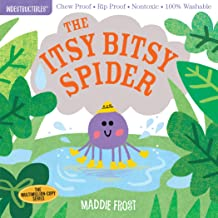Indestructibles: The Itsy Bitsy Spider: Chew Proof · Rip Proof · Nontoxic · 100% Washable (Book for Babies, Newborn Books,...