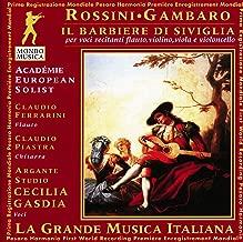 Rossini-Gambaro The Barber Of Seville For Voices Flute Guitar Violin Viola & Cello. Briga