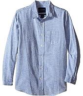 Toobydoo - Long Sleeve Dress Shirt (Toddler/Little Kids/Big Kids)