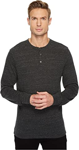 Tri-Blend Long Sleeved Henley