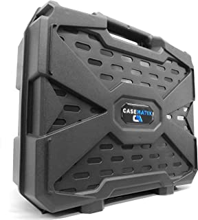 Casematix Compact Travel Mixer Case Compatible with Dj Mixer or Controller by Native Instruments Maschine Mikro, Mikro Mk3 Drum Controller or Traktor Kontrol f1 Dj Mixing Interface