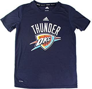 02edf48d894 adidas Oklahoma City Thunder Youth Team Logo Performance Climalite T-Shirt