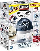 Rubson AERO 360º Deshumidificador recargable, absorbe