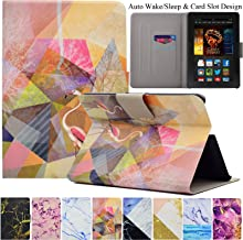 Kindle Fire HDX7 Case, Artyond Ultra Lightweight PU Leather Stand Case with [Auto Wake/Sleep Feature] Protect Slim Folio [Card Slot] Smart Case for Amazon Kindle Fire HDX 7 2013 Version (Flamingo)