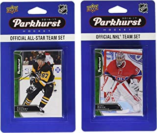 NHL Montreal Canadiens 2016 Parkhurst Team 套装和全明星套装,白色