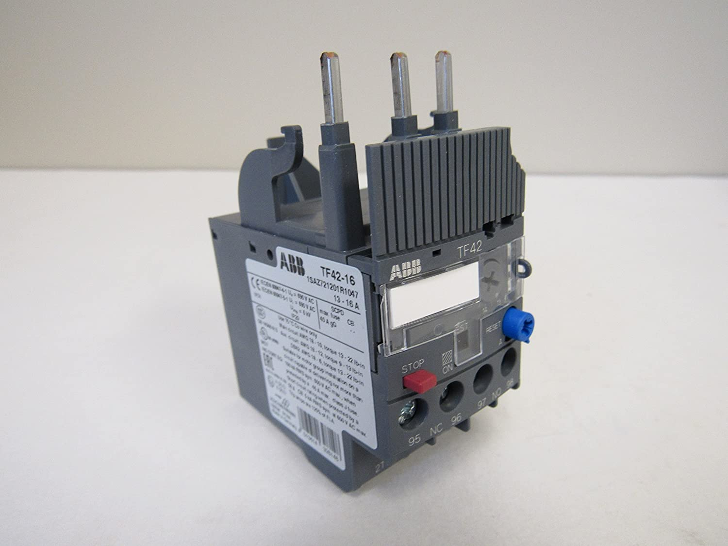 ABB TF42-16 13.0 - Free shipping anywhere in the nation 16.0 OFFicial Overload IEC Amp Relay