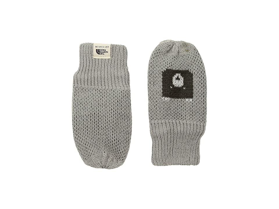 The North Face Kids Faroe Mitt (Infant) (Metallic Silver/Graphite Grey) Extreme Cold Weather Gloves