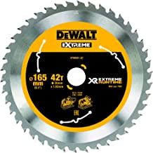 Dewalt DT99561-QZ Hojas para sierra circular portátil 165 mm x 20 mm 42D 10º, 0 W, 0 V