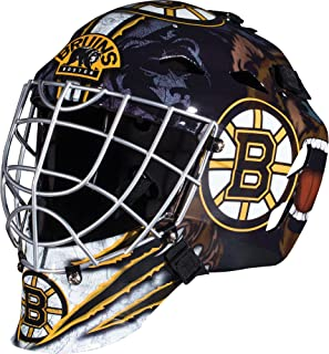 Franklin Sports Team Licensed NHL Hockey Goalie Face Mask - Goalie Mask for Kids Street Hockey - Youth NHL Team Street Hoc...
