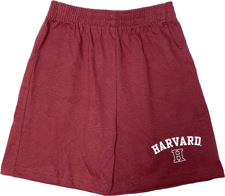 Harvard University Crimson Boys Youth Cotton Short