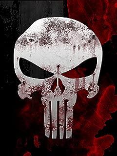 punisher skull poster