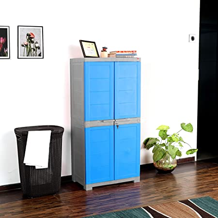 Cello Novelty Big Cupboard - Blue and Grey