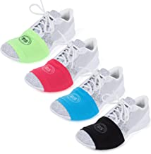 THE DANCESOCKS - 100% USA Made Over Sneaker Socks for Dancing on Smooth Floors (4 Pair Packs)