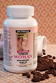 Multivitaminas Forever Woman 365 tabletas para todo un año. Especialmente para la Mujer, Combaten cansancio, aumentan la e...