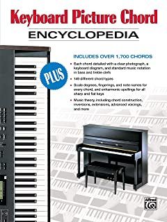 Keyboard Picture Chord Encyclopedia: Includes over 1,700 Cho