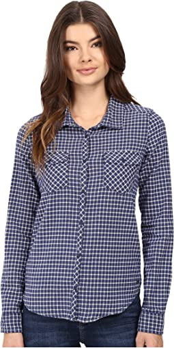 Squary Cool Long Sleeve Flannel Shirt