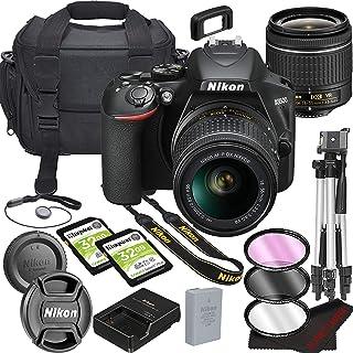 Nikon D3500 DSLR Camera Bundle with 18-55mm VR Lens | Built-in Wi-Fi|24.2 MP CMOS Sensor | |EXPEED 4 Image Processor and F...