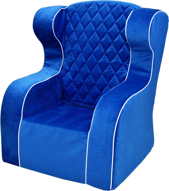 Welox ltd. Luxurise Schaum Sessel für Kinder blau