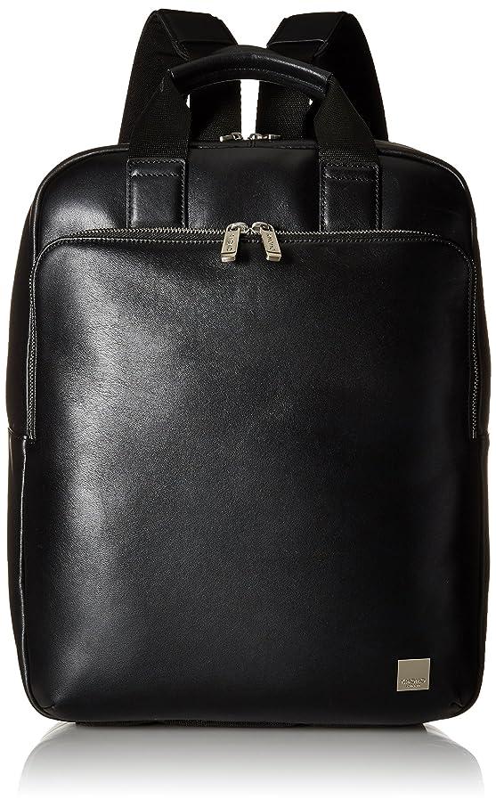 Knomo Luggage Brompton Dale Tote Backpack 15-inch, Black