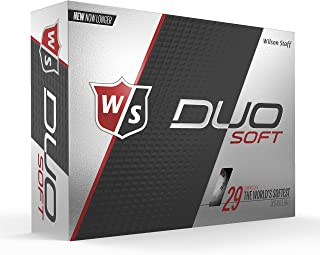 Wilson Staff Duo Soft Golf Balls, White