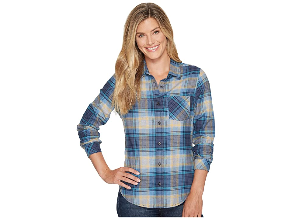 Pendleton Frankie Flannel Shirt (Grey/Blue Plaid) Women