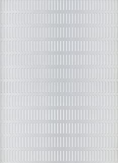 GAH-ALBERTS 466817 - Chapa perforada - ranura, aluminio, anodizado color plata, 200 X 1000 X 0.8 Mm