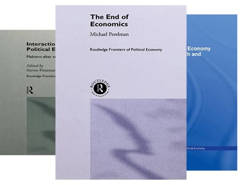 Routledge Frontiers of Political Economy (50 Book Series)