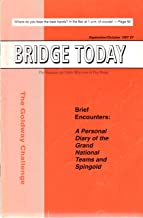 Bridge Today - The Magazine for People Who Play Bridge - September / October 1997