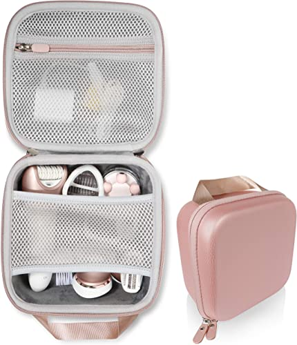 high quality Women's sale Epilator Case for Philips Satinelle lowest Advanced Wet & Dry Epilator, Prestige Bre650, Deess Permanent Hair Removal, Flawless Legs Women Hair Removal, Braun SIL-epil9 9-579 online